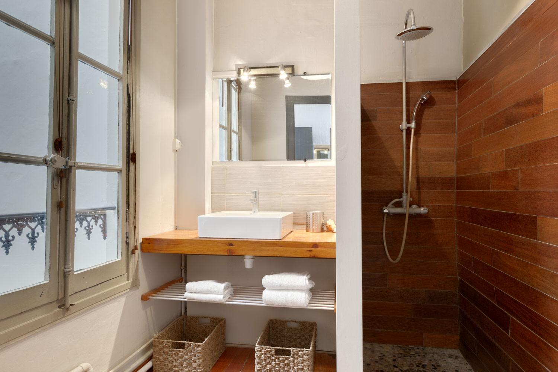 Photo salle de bain retour de plage